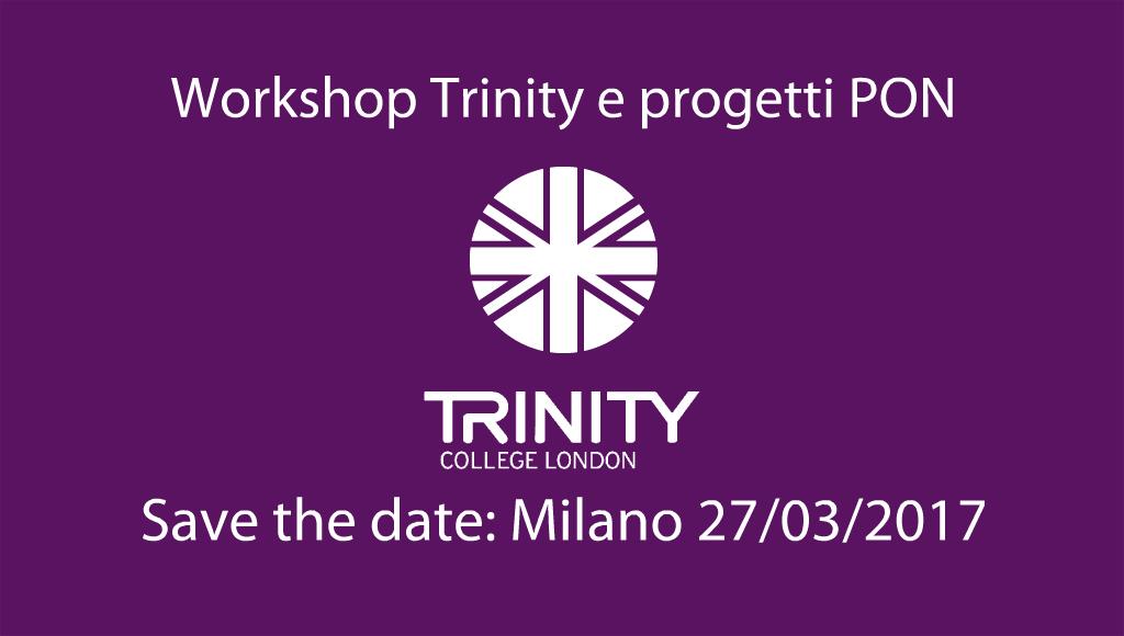 Workshop Trinity e progetti PON