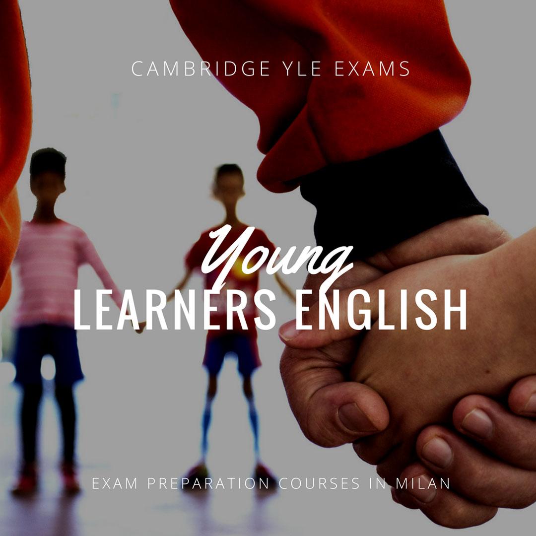 Corsi relativi alla preparazione degli esami di inglese YLE a Milano