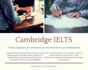 Adatta a chi si sottopone all'esame a scopo di studio non universitario, a scopo professionale o di immigrazione in Australia, Canada e Nuova Zelanda.